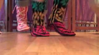 Rasta Mukluks: Groovy New Knit Shoes at Mexicali Blues