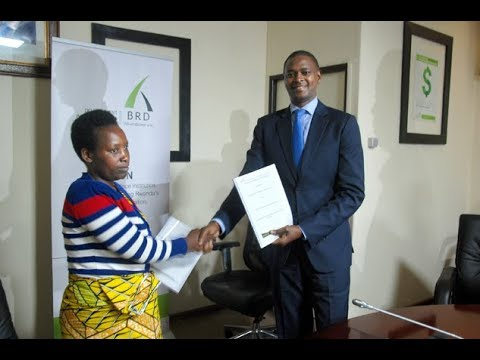 BRD signs energy financing agreements with SACCOs