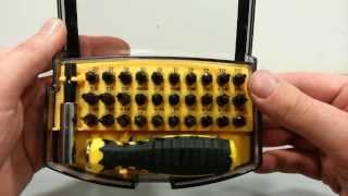 Набор для электроники 30 бит. Т2-Т30, звездочки для устройств от Apple и другое. SKU 240515