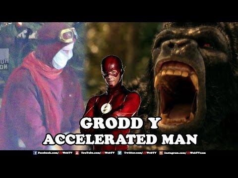 Grodd Regresa a Flash Temporada 3 -  Noticias Geek TV