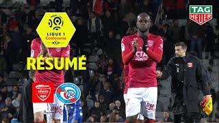 Nîmes Olympique - RC Strasbourg Alsace ( 2-2 ) - Résumé - (NIMES - RCSA) / 2018-19