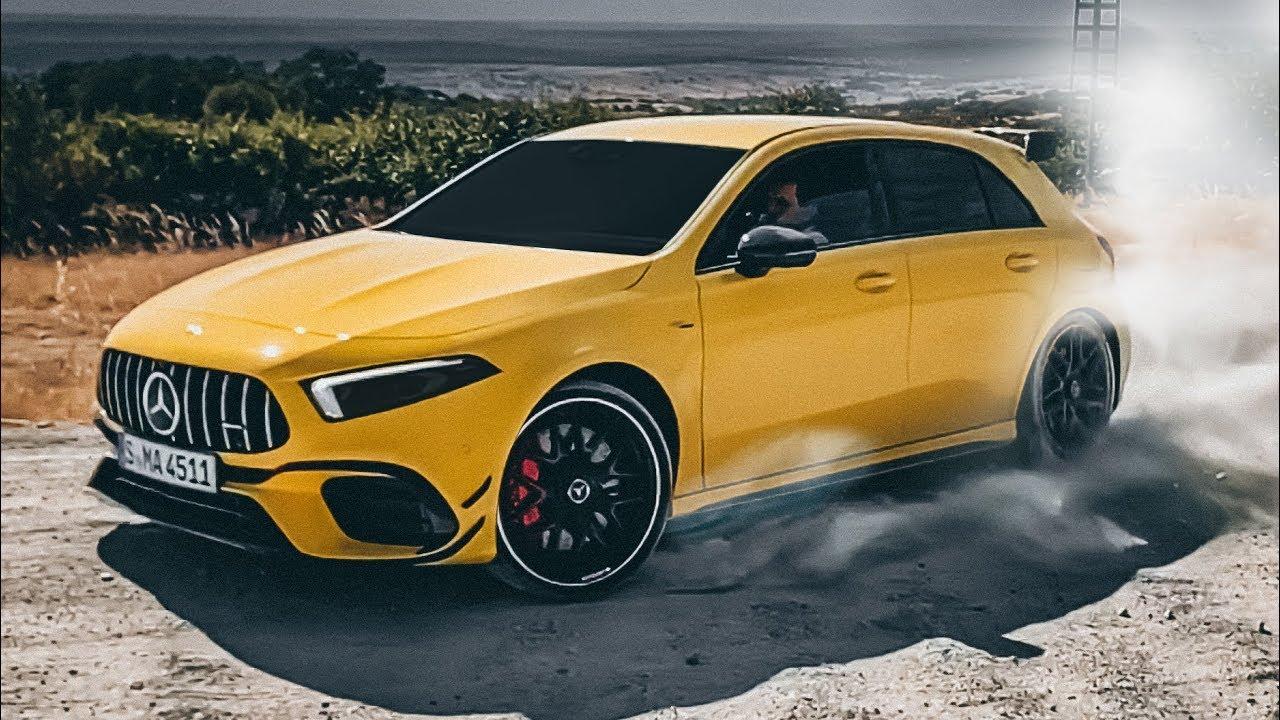 ПЕРВЫЙ ТЕСТ! 421 л.с. A 45 S и CLA 45 S! DRIFT MODE! Подробный обзор 4MATIC+ демонов от Mercedes-AMG