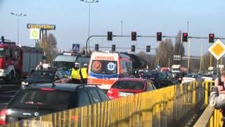 Karambol na DK1 w Częstochowie!