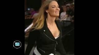 РЕАКЦИЯ НА ГОРЯЧИЕ МОМЕНТЫ С ДИВАМИ WWE