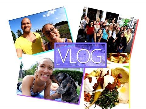 Vlog - Gesundes Food Diary - Rohkost - BodyShape Treffen - Shopping in Frankfurt
