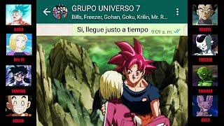 DRAGON BALL SUPER CAPITULO 121 CHAT