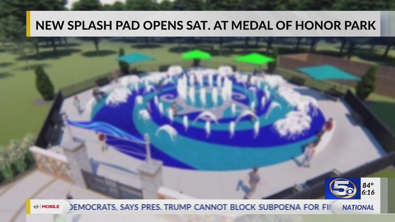 Download VIDEO: New splash pad to open this Saturday