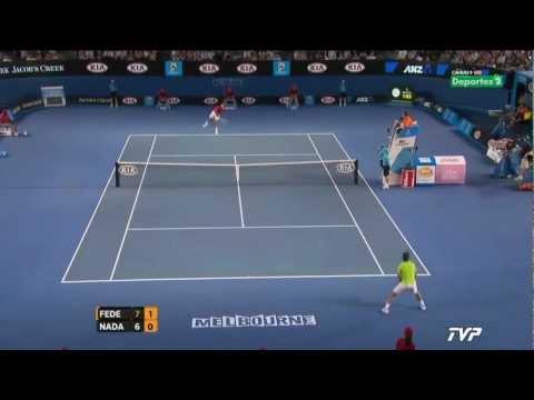 Nadal vs Federer - SF - Highlights Australian Open 2012 [HD]