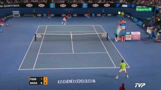 Nadal vs Federer - SF - Highlights Australian Open 2012 [HD]