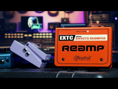 EXTC-Stereo - Stereo Guitar Effects Interface & Reamper