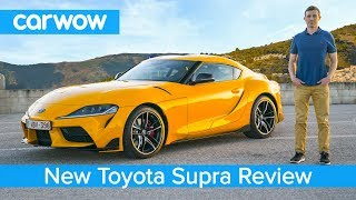 Download Toyota Supra 2020 in-depth review - tested on road, sideways on track and over the 1/4 mile sprint! Mp3 and Videos