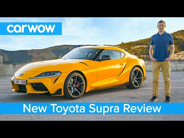 Toyota Supra 2020 in-depth review - tested on road, sideways on track and over the 1/4 mile sprint!