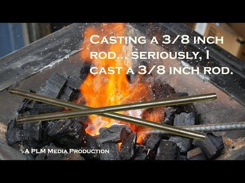Casting 3/8 inch aluminum rod
