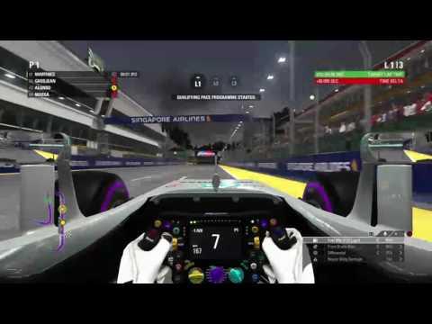 F1 2016 parctice Singapore live