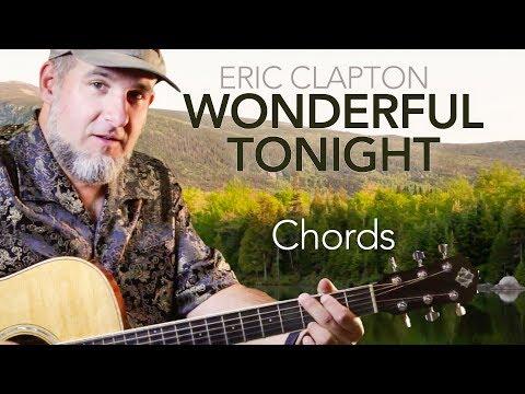 Wonderful Tonight Easy Guitar Chords