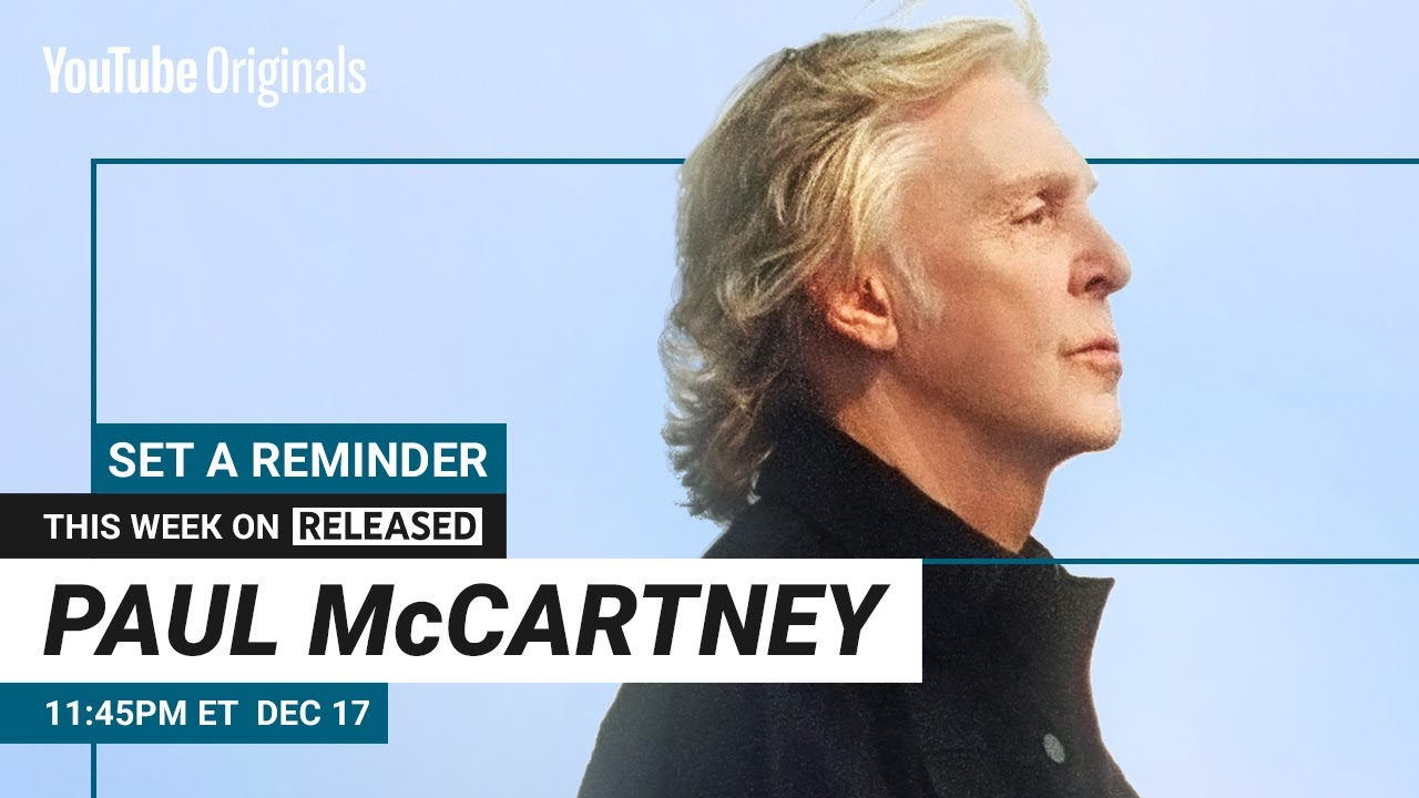 Paul McCARTNEY   This week on RELEASED