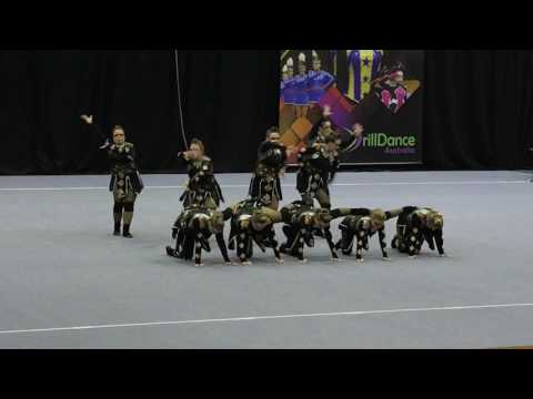 Electrikaires Senior Thematic Dance - 2nd Place - Sydney 2017