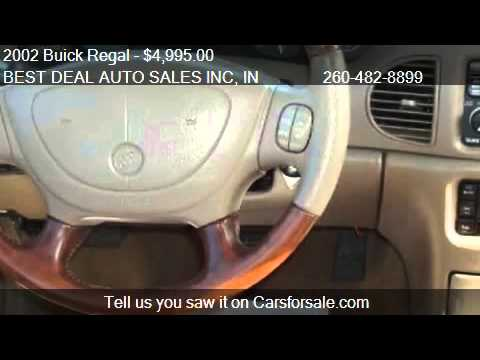 2002 Buick Regal Joseph Abboud  for sale in Fort Wayne IN  YouTube