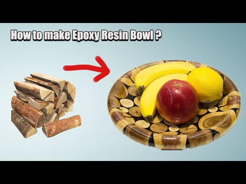 DIY Resin Bowl || How to make an Epoxy Resin Bowl from scratch?