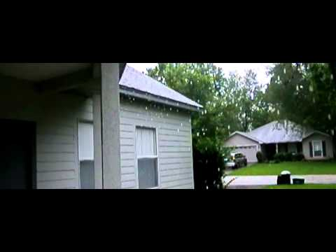 Rain from Tropical Storm Debby (2012) at 400fps