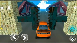 Speed Bumps car Challenge driving sports car