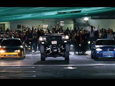 Форсаж 4 Fast & Furious \ Гонка