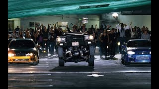 Форсаж 4 Fast & Furious  Гонка