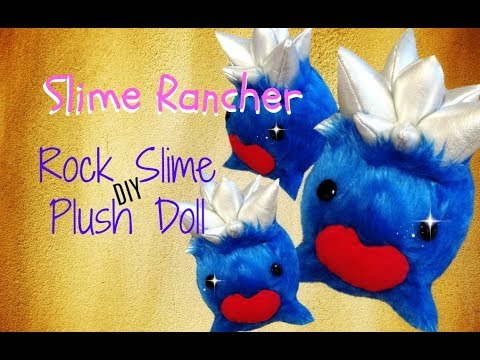 Slime Rancher Diy Rock Slime Plush Youtube