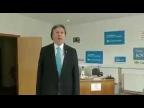 HILARIOUS! Genuine Alan Partridge-esqe Tory Campaign Video #ToryCringe