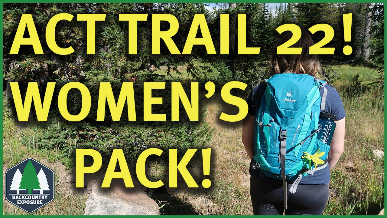 Deuter ACT Trail 22 SL Awesome Women's Pack!