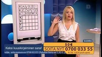 LIVE Tiedä ja Voita 2013-07-04 Nelonen