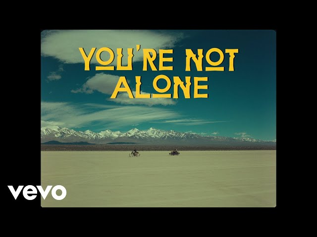 Agoria - You're Not Alone (Official Video) ft. Blasé