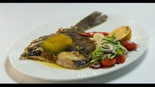 Жареная камбала с лимонным желе | Рыба. От филе до фарша