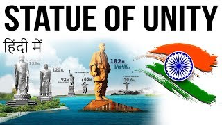 Statue of Unity स्टैच्यू ऑफ यूनिटी All you need to know - Current Affairs 2018
