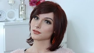 Make-up & Hair Makeover for a transgender girl | Adela Manolache