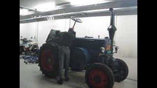 Lanz Bulldog D8506 Benzinstart