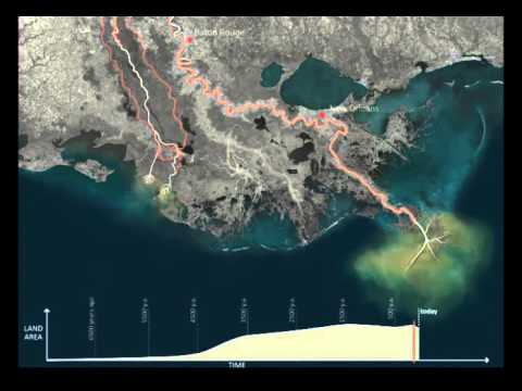 What's Causing Coastal Erosion in South Louisiana?