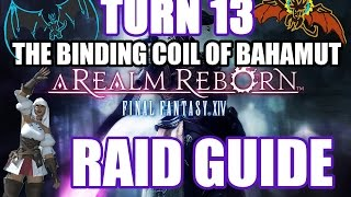 the final coil of bahamut turn 4 raid guide