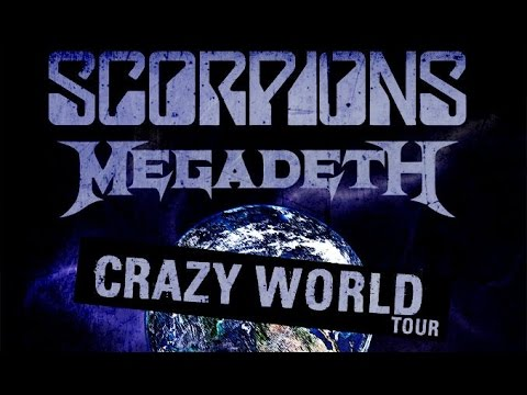SCORPIONS - Crazy World 2017 North American Tour