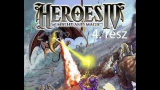 Találkozás Desettel. Heroes of Might and Magic 4 végigjátszás 4.rész.