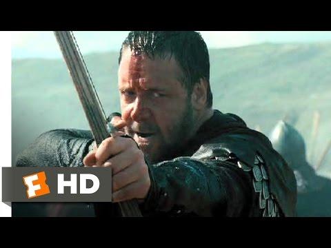 Robin Hood (10/10) Movie CLIP - Beach Battle (2010) HD