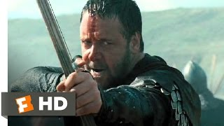 Robin Hood (10/10) Movie CLIP - Beach Battle (2010) HD