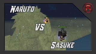 Naruto vs Sasuke!! ll Shinobi Life ll Roblox