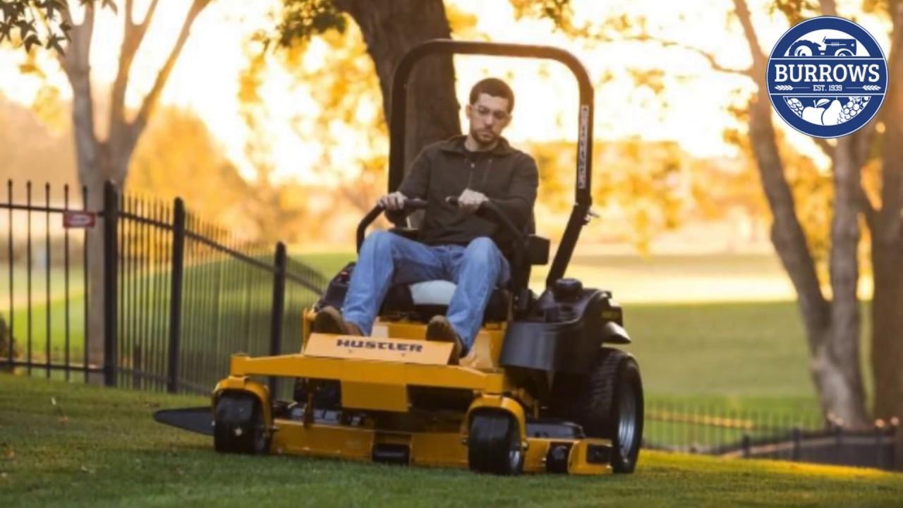 Hustler lawn tractors — 7