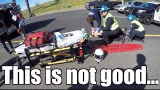 Motorcycle Crash |Lost control of Motorcycle