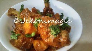 Chicken Curry Karai With Kienyeji Kuku - Jikoni Magic