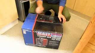 sealey mightymig 100 flux core welder like harbor freight