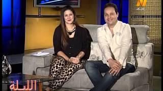 10 November   01 36 26   El Leila  Talk Show ProgramA talk show hosting cel