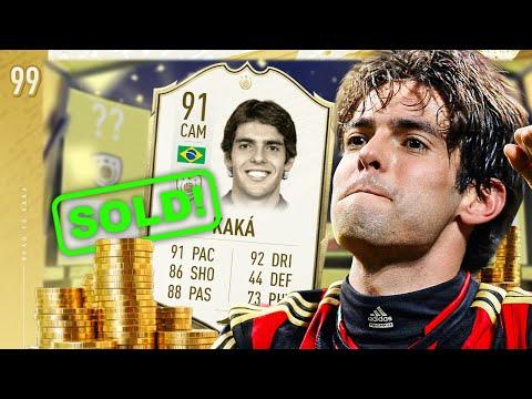 SELLING PRIME ICON KAKA!?! - FIFA 20 KAKA ROAD TO GLORY #99