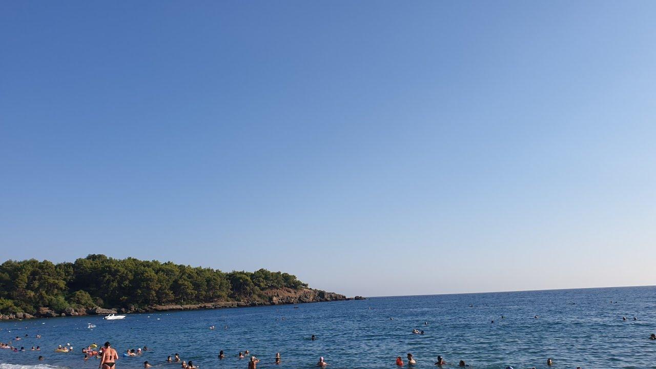 Пляж Отеля Justiniano Deluxe Resort. Какие отели рядом